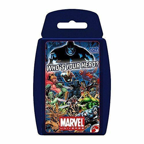 TOP TRUMPS Marvel Universe Travel Card Fun Game Card Holiday