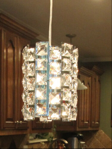 Crystal pendant light fixture chandelier lamp for kitchen island//dining room