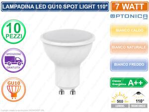 10 lampada lampadina lampadine led optonica gu10 spotlight for Lampadine led 1 watt