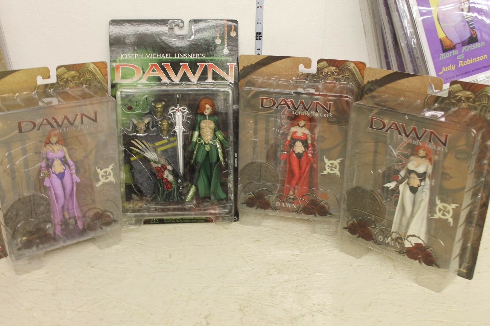 Diamond Select Dawn Female Goddess Figure Set of 4