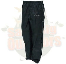 2XL 2XLarge Frogg Toggs Black Road Toad Motorcycle Reflective Pants