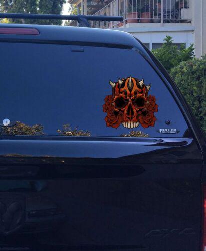03-87 Darth Maul Skull roses vinyl sticker decal Force Star Wars Sith Order