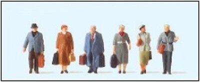 Tt Ampia Viaggiatori Ep. Iii Preiser 75048 Nuovo!!!-mostra Il Titolo Originale Stile (In) Alla Moda;