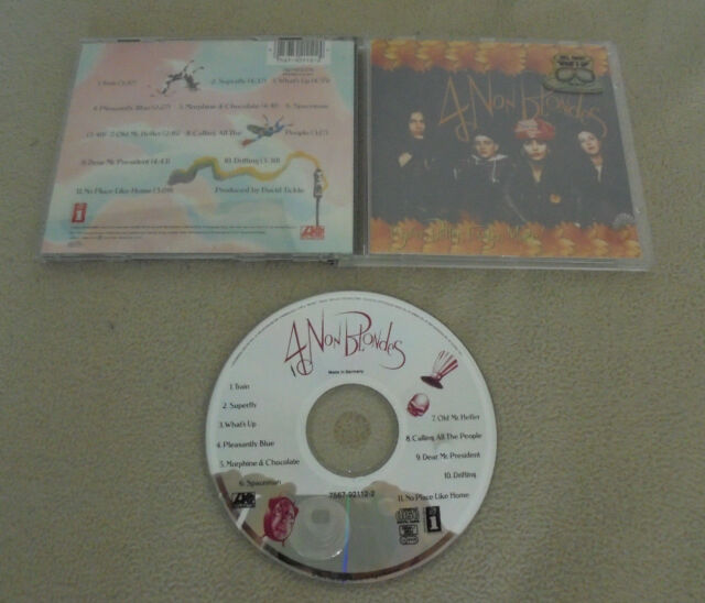 CD 4 Non Blondes - Bigger, Better, Faster, More 11.Tracks 1992 Whats Up Spaceman