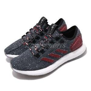 adidas-PureBoost-Black-Scarlet-White-Clear-Orange-Men-Running-Shoes-B37777