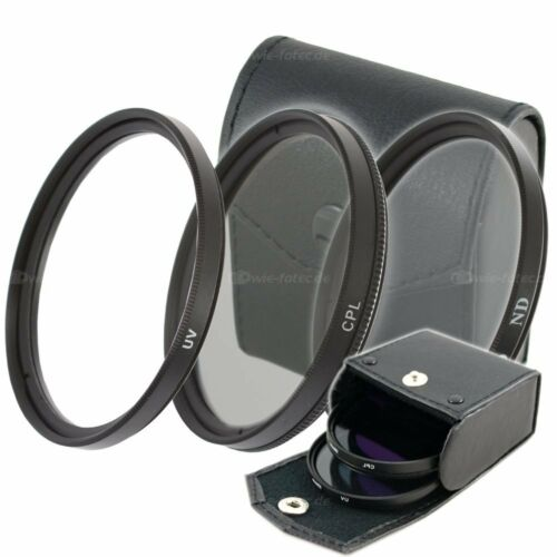 67mm UV Filter /& ND4 Filter /& CPL Filter Polfilter 67mm für Kamera Objektive