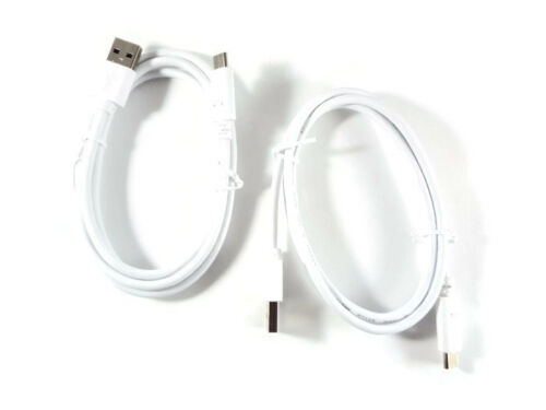 USB C to USB A White Premium Charging Data Cable 2 PACK 3Ft 1M USA SELLER  56k