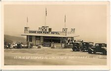 Grand View Point Hotel, Lincoln Highway, West of Bedford PA RP Postcard