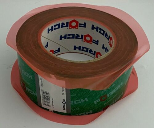 FÖRCH ruban adhésif 50//60 mm largeur vapeur frein vapeur film OSB 25 m Rôle