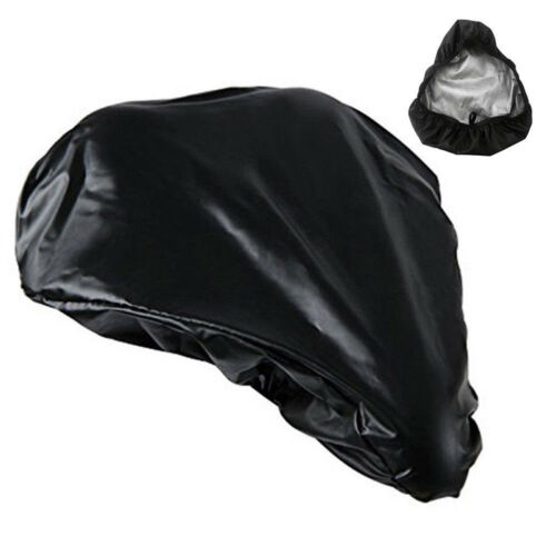 Bike Seat Waterproof Rain Cover Dust Resistant Bicycle Saddle Cover Black Color