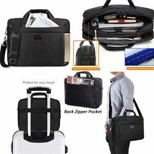 Black-Briefcase-Computer-Handbag-Shoulder-Bag-15-6inch-Laptop-Notebook-Messenger