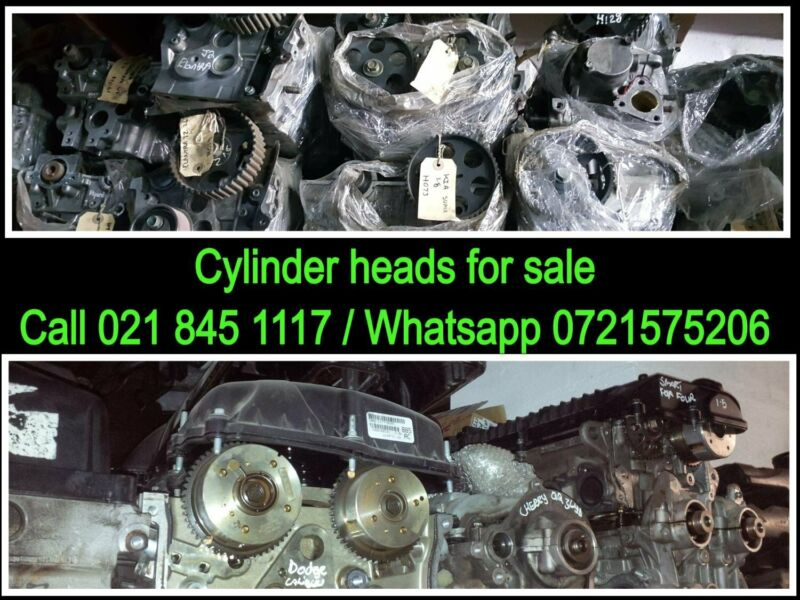 Cylinder heads for most vehicles make and models for sale
