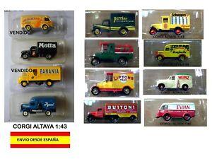 CAMIONES-ESCALA-1-43-CORGI-ALTAYA-MINIATURAS-MAQUETAS-DIORAMAS-COLECCIoN-HOBBY