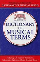 Copieux Dictionary Of Musical Terms Santorella Révisé-afficher Le Titre D'origine