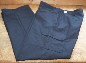 NEW Cintas Susan Fit Womens Work Uniform Black Pants Size 16 TL Tall