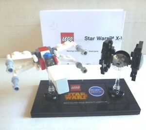 *RARE PROMO* LEGO STAR WARS X-WING & TIE FIGHTER TRUXWING TRUTIE TOYS R US NEW!