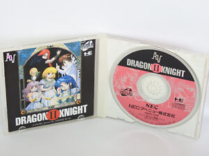 DRAGON-KNIGHT-II-2-ref-C-PC-Engine-SCD-PCE-Grafx-Japan-Game-pe