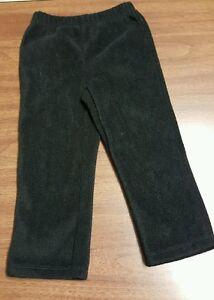 811daa7cd12bd Image is loading Girls-Black-Fleece-24-Month-Pants-by-WonderKids