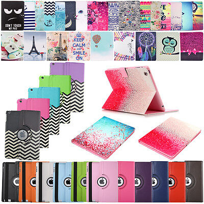 Stand Protect Case For Apple iPad  2 3 4 5 6 Pro Mini 4 Leather Cover Flip Folio