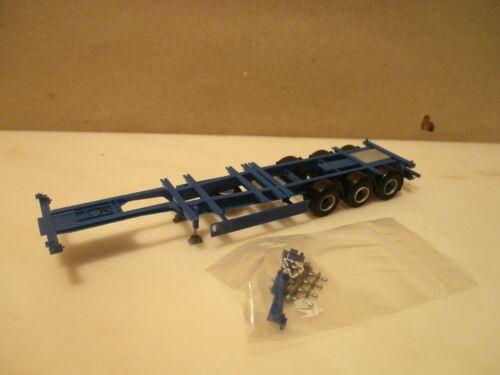 40//45 ft   High Cube  Trailer AWM 3 achs blau             --- SK47
