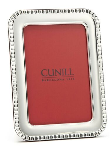 Cunill Sterling Silver Paris 8X10 Picture Frame