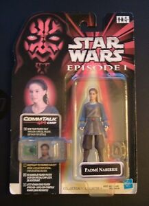 Star-Wars-Episode-1-Collection-1-Rare-PADME-039-NABERRIE-figure-inc-Comm-Talk-Chip