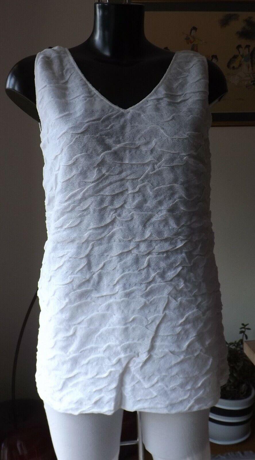 Le donne indossano Sarah Pacini Pacini Pacini MIX in Cotone colore Blanc Tunica Top Taglia Unica SP7068 11c4e6