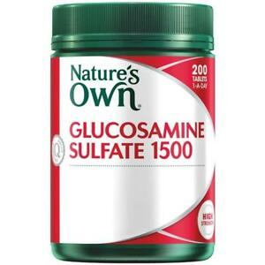NATURE-039-S-OWN-GLUCOSAMINE-SULFATE-1500-200-TABLETS-1-A-DAY-CARTILAGE-NATURES