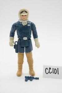 Vintage Loose 1980 Star Wars: Empire Strikes Back Han Solo Hoth Complete Figure