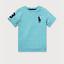 Ralph-Lauren-Boys-T-Shirt-Casual-Crew-Neck-Genuine-Real-Top-Polo-Short-Sleeves thumbnail 4