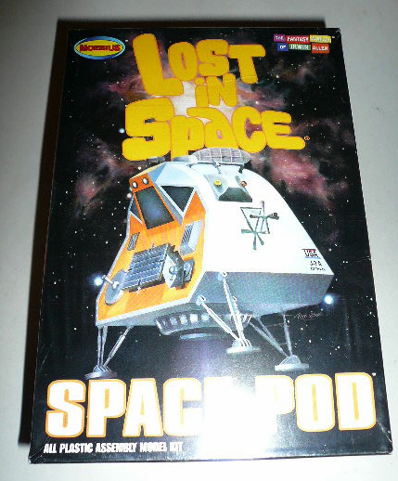 Moebius'Lost in Space '1  24 Space Pod modellllerlerl Kit