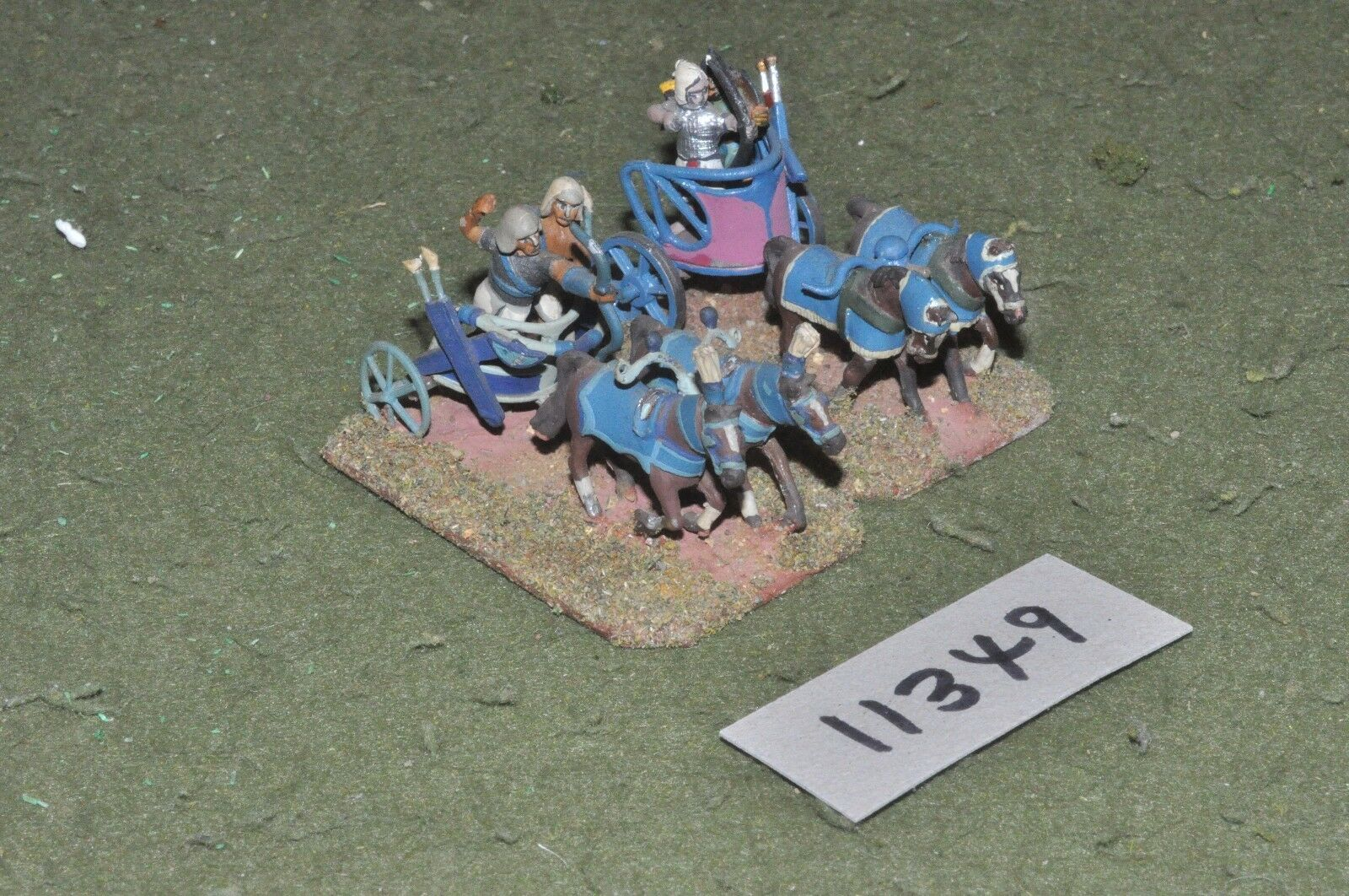 25mm biblical   egyptian - chariots 2 chariots - chariot (11349)