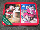 Coca Cola Playing Cards with Santa Clause Lionel Trains 1994