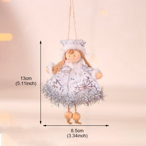 Angel Doll Ornaments Cute Girls Hanging Pedants Party Christmas Tree Decoration