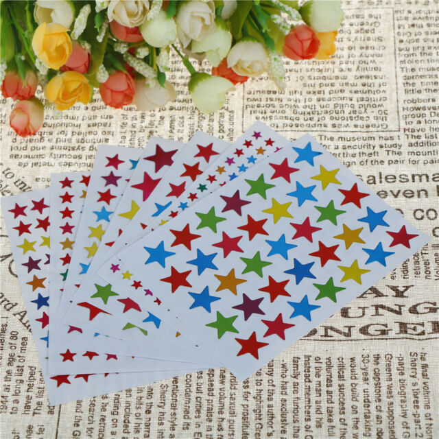 10 Sheets DIY Photo Album Sticker Star Kids Stationery Diary Scrapbook StickerFx