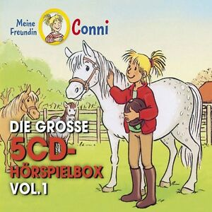 CONNI-DIE-GROssE-5-CD-HORSPIELBOX-VOL-1-5-CD-NEU