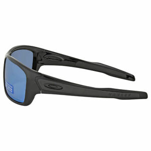 52c489fddd Oakley Turbine Polished Black Prizm Deep H2o Polarized Glasses Unica ...