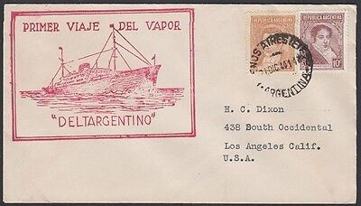 """Maiden Voyage """" Deltargentino """" 1940 B.a Los Angeles Ideales Geschenk FüR Alle Gelegenheiten Argentinien"""