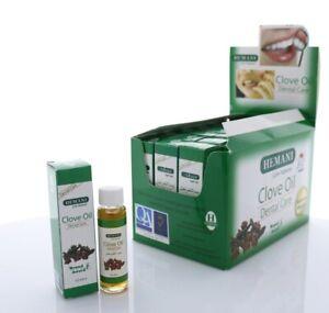 Hemani Clove Oil Natural Dental / Oral Care Toothache 10ml Original best selling