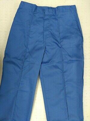 Alexandra WorkWear Blue Waterproof Trousers Branded Thames Water BNIP