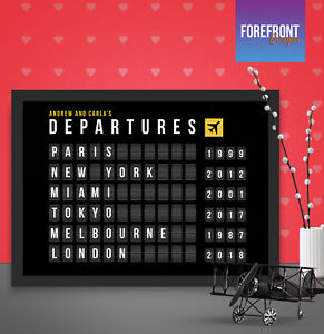 Personalised-Travel-departure-board-art-print-Perfect-anniversary-birthday-gift
