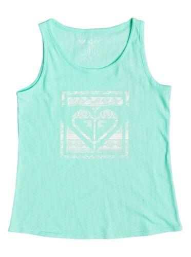 Shirts Sz 10//M ERGZT03164 Roxy Girls Rainy Night Tropical Heart Tank T