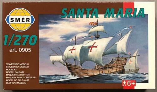 V-151 SMER 0905 Santa Maria Schiff Segelschiff Modellbau 1//270