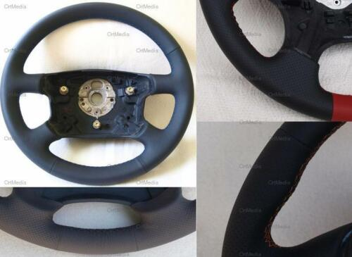 Lenkrad für Fiat Seicento Croma Doblo Idea Linea u.a Neu Beziehe Lederlenkrad
