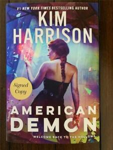 KIM-HARRISON-American-Demon-SIGNED-First-Edition-Hardcover