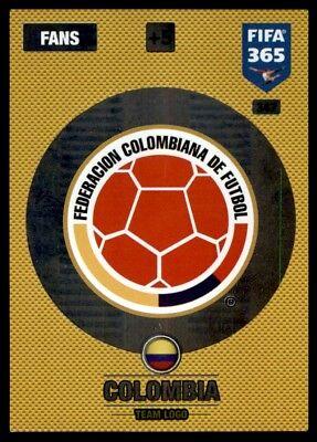 PANINI FIFA 365 cards 2017-293-Team Logo-Team Logo-Angleterre