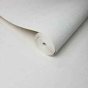 Wallpaper-white-Textured-Plain-faux-grasscloth-horizontal-lines-wallcoverings