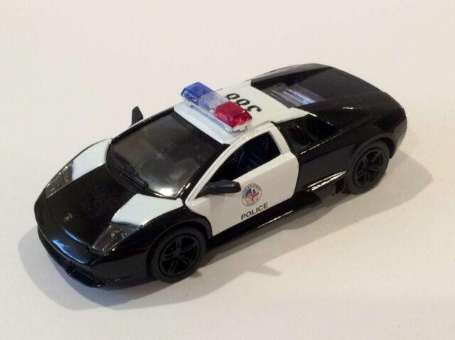 Kinsmart 5 Lamborghini Murcielago Lp640 Police Car Diecast Model 1
