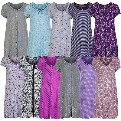 M/&S Marks and Spencer/'s LADIES NIGHTDRESS nightgown nightshirt Pink Print logo