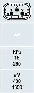 0041533328 SENSOR MAP 0016146V001 MB-16244349 0051537228 . 0041533128